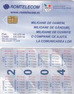 PHONECARDS ROMANIA 2004,ADVERTISEMENT,CALENDAR. - Roumanie