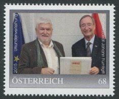 ÖSTERREICH / PM Nr. 8116731 / Kommerzialrat Johann Fürntratt Urkundenverleihung 2015 / Postfrisch / ** - Österreich
