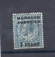 150024535  MARRUECOS  G.B.  YVERT    Nº  9 - Oficinas En  Marruecos / Tanger : (...-1958