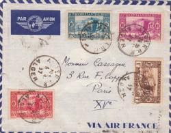 1937 BELLE LETTRE ALGERIE POUR PARIS / 6301 - Cartas