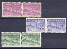 150024539  BOLIVIA  YVERT    Nº 343/345/346  */MNH - Bolivia