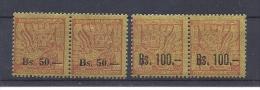 150024542  BOLIVIA  YVERT    Nº 400/1  */MH - Bolivia
