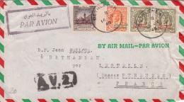 1949 PALESTINE  LETTRE RARE A.V.2 BETHLEHEM FRANCE   / 6307 - Palestine