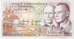 Luxembourg - Pick 14A - 100 Francs 1981 - Unc - Lussemburgo