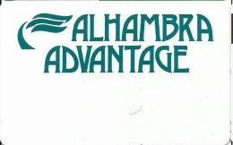 Alhambra Casino Aruba Advantage Slot Card  .....[FSC]..... - Casino Cards