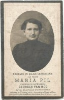 100.MARIA PIL - LID VAN BESTAANDE BROEDERSCHAPPEN - VEURNE 1884/1920 - Imágenes Religiosas