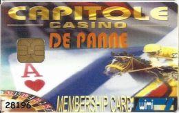 Capitole Casino De Panne Belgium Slot Card With Smart Chip - Casino Cards