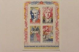 France :Bloc Feuillet Neuf   : N° 12 : Bicentenaire De La Révolution Française - Nuovi