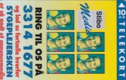 Denmark, KP 131B, Stibo Media 2,  Mint Only 1.000 Issued, 2 Scans. - Denmark