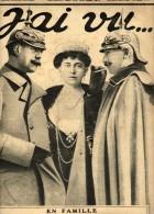 J'ai Vu...N°109-Le Kaiser Constantin Reine Sophie-Gal Pétain, Castelnau, Joffre, Roques, Sarrail, Foch, Nivelle, Humbert - Guerre 1914-18