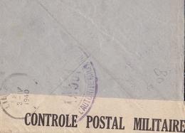 Lettre + Correspondance Lille 1940 Poste Aux Armées Censure Militaire Arnaud Balloy Seconde Guerre Mondiale - WO2