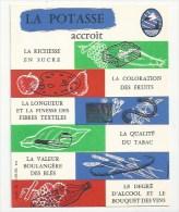 AGRICULTURE - PUBLICITÉ -  ILLUSTRATEUR - LA POTASSE ACCROIT LA RICHESSE…. - POTASSES D´ALSACE - Cultures
