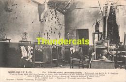 CPA  OORLOG 1914-18 POPERINGE POPERINGHE BOMBARDEMENT ZIEKENZAAL VAN HET O L V GASTHUIS