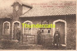 CPA  BOURG LEOPOLD CAMP DE BEVERLOO LA GARE MILITAIRE KRIJGSSTATIE - Leopoldsburg (Kamp Van Beverloo)