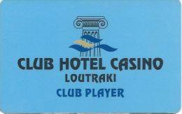 Loutraki Club Hotel Casino Player Card - Casino Cards