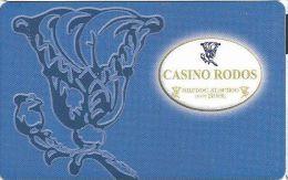 Casino Rodos Greece Player´s Card - Casino Cards