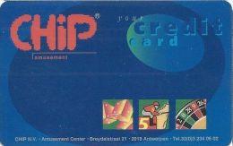 CHiP Amusement Center Credit Card From Belgium - Casino Cards