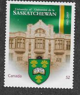CANADA. 2007,  # 2210i, HIGHER LEARNING: UNIVERSITY Of SASKACHEWAN DIE CUT FROM QUARTELY PACK   MNH - Carnets