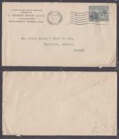 Trinidad & Tobago, George V, 2d Cover PORT OF SPAIN  NOV 21 1931 C.d.s.> Canada - Trindad & Tobago (...-1961)