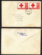 Rhodesia & Nyasaland, 1963 Red Cross, First Day Cover - Rhodesia & Nyasaland (1954-1963)