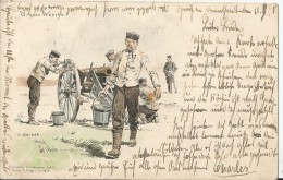 Militaria    AK 1898 - Régiments