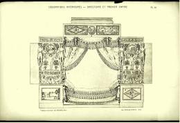 Ca. 1900/1910  - Decorations Interieures - Directoire Et Premier Empire - Baukunst Architektur Ornamente - Architektur