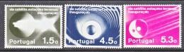 PORTUGAL  1201-3     **   SPACE  SATELLITE - Unused Stamps