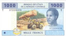 CONGO      1000 FRANCS      2007      P. 107 T      (voir 2 Scans) - Centraal-Afrikaanse Staten