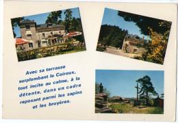 CPM   19    AUBAZINE    HOTEL DU SAUT DE LA BERGERE   PROPR. MME LAGARDE        MULTIVUES