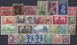 SARRE - LOT TIMBRES OBLITERES Et Neufs - Collections, Lots & Series