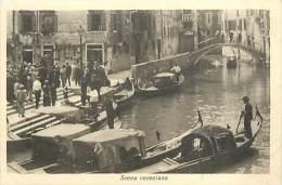 V-15 - 108 :  SCENA VENEZIANA  VENIZE - Venezia (Venice)
