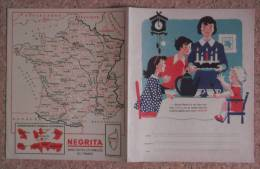 Protège-cahier - Négrita - Carte Assorbenti