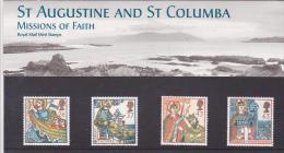 GB 1997 MISSIONS OF FAITH PRESENTATION PACK SG 1972-75 MI 1684-87 SC 1730-33 IV 1942-1945,RELIGIONS. - Presentation Packs