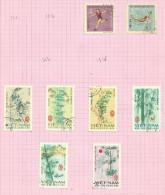 Vietnam Du Nord N°523, 524, 527 à 532 Cote 5.70 Euros - Vietnam
