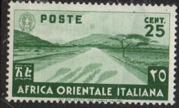PIA - A.O.I. - 1938 - Francobollo Ordinario - (Sas 7) - Africa Orientale Italiana