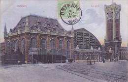CPA - OSTENDE - La Gare - Oostende