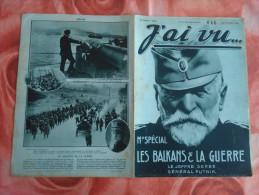 1915 - J'ai Vu N 50 - Le Joffre Serbe Général Putnik - Magazines & Papers