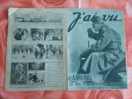 1915 - J'ai Vu N 53 - Le Roi Pierre De Serbie - Magazines & Papers