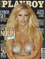 PLAYBOY N° 19 - Décembre 2001 - Gena Lee NOLIN - FELLATION - ANGKOR - Books, Magazines, Comics