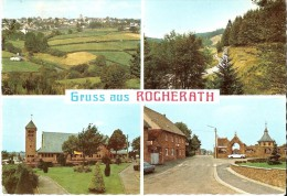 BULLANGE - ROCHERATH - KRINKELT (4761) : Die Höchstgelegene Ortschaft Belgiens. CPSM Multivues (4 Vues) Rare. - Büllingen
