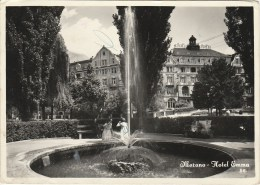 4544.   Merano - Hotel  Emma - 1958 - Animata - Minervino Murge - Merano