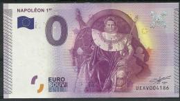 Billet Touristique 0 Euro 2015  Napolèon 1er épuisé - EURO