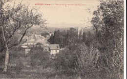 Aisne -02- Vorges Vue Prise Du Chemin Des Carrieres