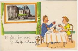 86--LA TRICHERIE--IL FAIT BON VIVRE--TBE-VOIR SCANNER - France