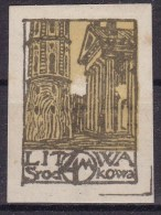 Central Lithuania 1921 Fi 17A Mint  Hinged - Lituanie