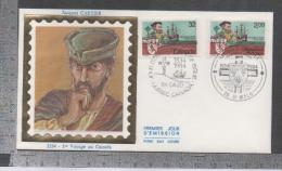 2307 JACQUES CARTIER  1 VOYAGE AU CANADA - Joint Issues