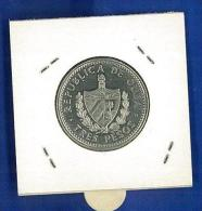 """Cuba: 3 Pesos 1992 """"CHE GUEVARA"""" FDC - NICKEL - CUBA - PATRIA O MUERTE - Cuba"""