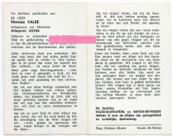 Vanacker Richard Vanderper Declercq Bossier Klerken Houthulst  Bidprentje Doodsprentje - Religion & Esotérisme