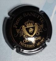 Capsule De Champagne - Banette Pierre  - N°1 - Noir Et Or - Champagne