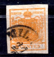 ASI1 - LOMBARDO VENETO , Il 5 Cent N. 1 Usato. SPL - Lombardo-Veneto
